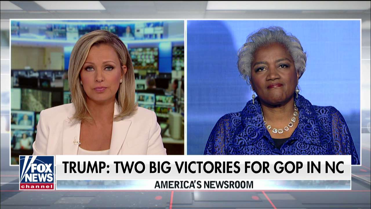 Donna Brazile throws cold water on GOP victory in NC: Democrat came within 2 points in 'ruby-red' area