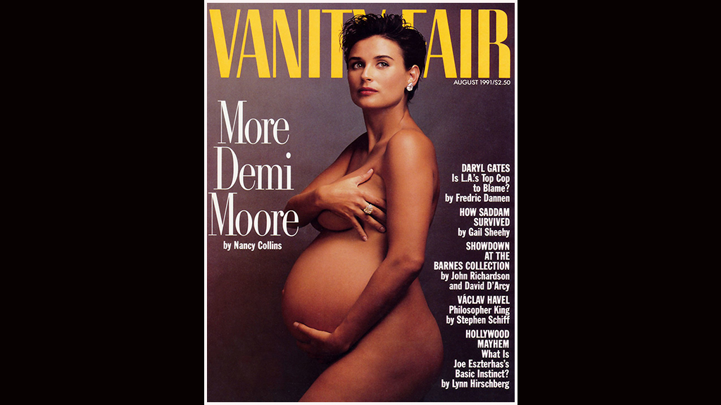 Demi Moore's nude pregnancy photo was meant to be private