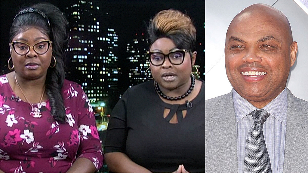 'Black people don't need reparations, they need liberation': Diamond & Silk echo Charles Barkley's criticis...