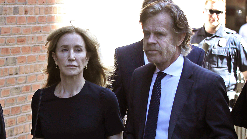 Felicity Huffman sentence in college admissions scam slammed on social media