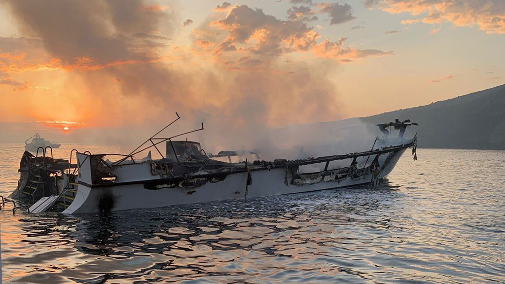 California boat company cancels upcoming diving trips as 33 of 34 bodies pulled from water