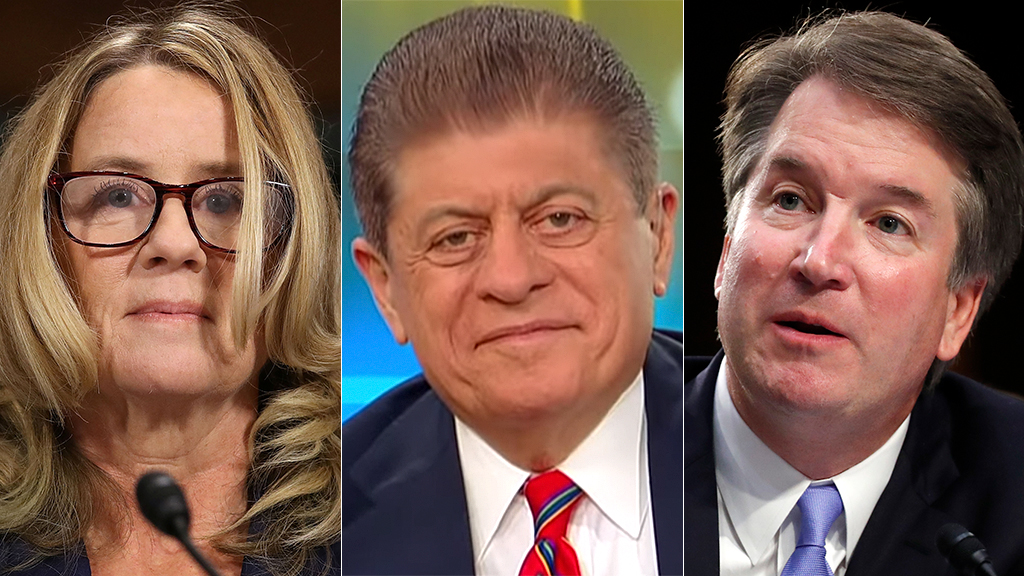 Westlake Legal Group ford-napolitano-kavanaugh-AP-FOX Napolitano 'surprised' by remarks from Kavanaugh accuser's lawyer, says matter could warrant investigation Nick Givas fox-news/shows/americas-newsroom fox-news/politics/judiciary/confirmation-of-judge-kavanaugh fox-news/media/fox-news-flash fox-news/media fox news fnc/media fnc article 960c7290-24e7-57c8-96bc-de0e87264337