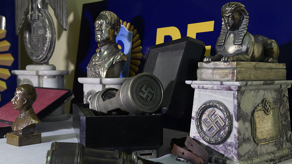 Mysterious Adolf Hitler bust found in French Senate basement