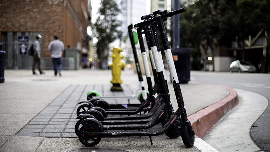 Westlake Legal Group iStock-e-scooter Trump fan hit with scooter as protest outside California Democrats convention turns violent: report fox-news/us/us-regions/west/california fox-news/politics/elections/democrats fox-news/politics/elections fox-news/politics/2020-presidential-election fox news fnc/politics fnc fcb5dd77-7c59-525b-8241-0a414ae959a2 Brie Stimson article