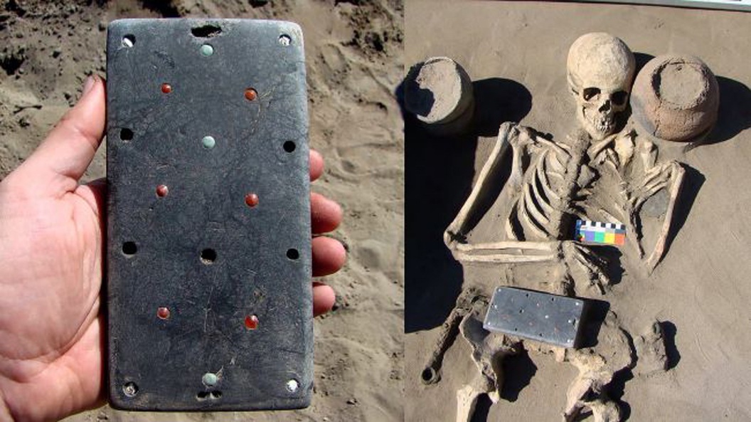2,100-year-old 'iPhone case' discovered in 'Russian Atlantis'