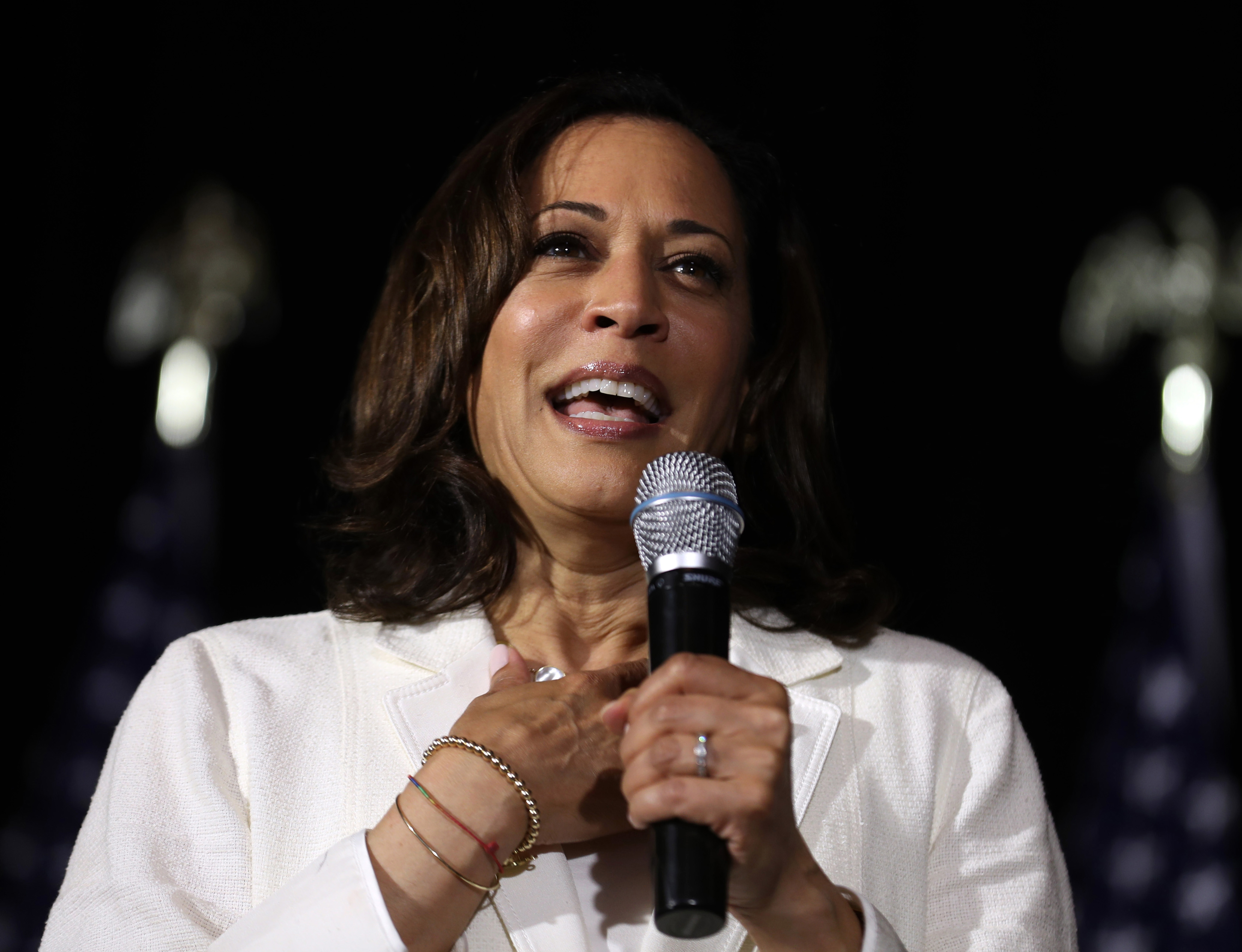 Westlake Legal Group kamala-harris-getty Kamala Harris asks audience if America is 'ready' for her presidency, crowd shouts 'no' Joseph Wulfsohn fox-news/tech/companies/twitter fox-news/politics/elections fox-news/politics/2020-presidential-election fox-news/person/kamala-harris fox news fnc/media fnc article 2c551975-4813-5e54-93b7-b19fdc452431