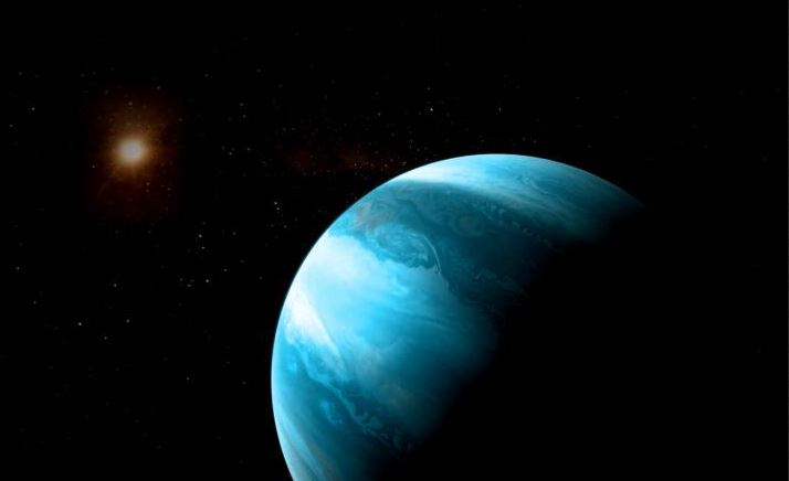 Giant planet found circling tiny red dwarf star