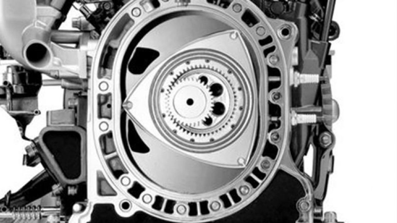 Mazda teasing the return of the rotary engine