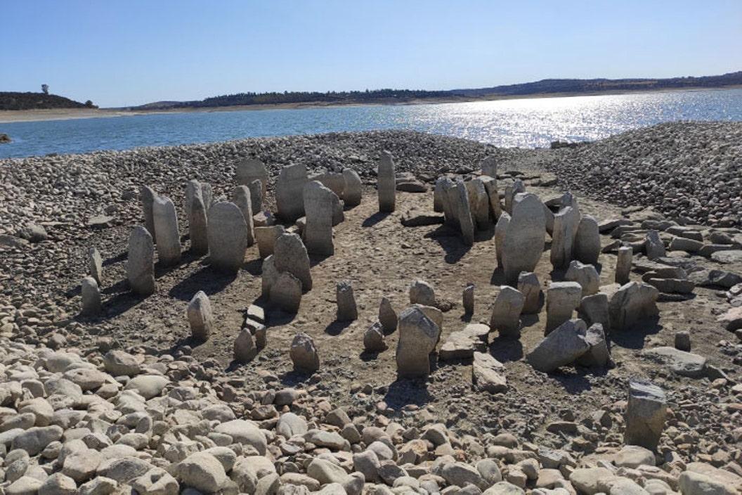 'Spanish Stonehenge' revealed after spending decades underwater