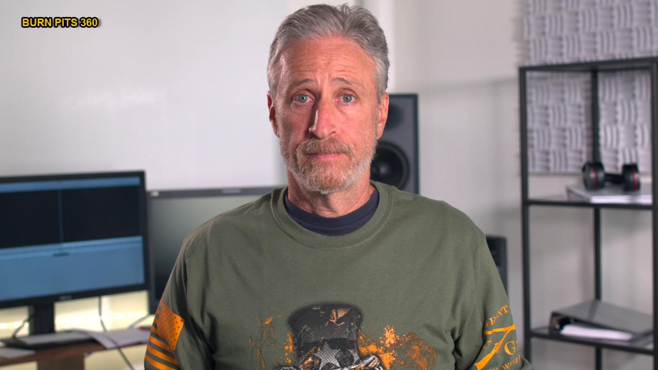 Jon Stewart sets his sights on helping burn pit vets with new PSA