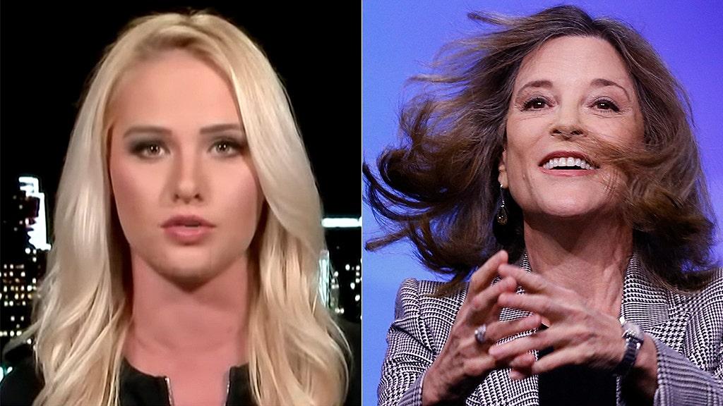 Tomi Lahren: 2020 Dem Marianne Williamson discovers the true 'Dark Psychic Force'