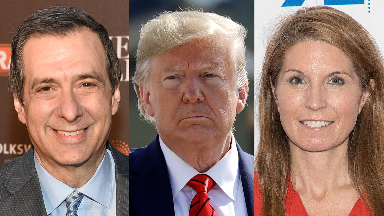 Howard Kurtz hits MSNBC anchor Nicolle Wallace for talking over Trump's speech and calling him a liar