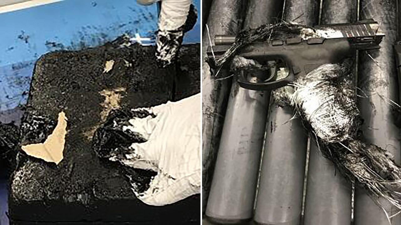 Barbados man arrested at JFK airport after TSA finds gun hidden in tar, officials say