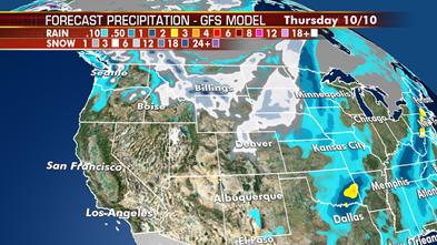 Developing winter storm threatens Northern Rockies, Northern Plains