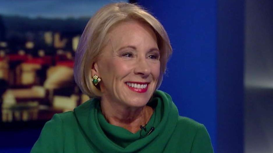 Betsy DeVos blasts Democrats' 'crazy' plans to eliminate student loan debt