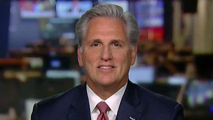 Westlake Legal Group 694940094001_6099265488001_6099262888001-vs Rep. Kevin McCarthy reveals what he says is the real 'cover up' in impeachment trial Yael Halon fox-news/shows/hannity fox-news/politics/trump-impeachment-inquiry fox-news/media/fox-news-flash fox news fnc/media fnc article 35f469bc-06d0-53a2-8a63-10be0eec708a