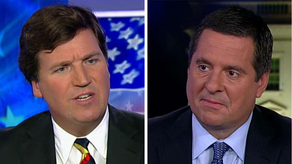 Westlake Legal Group 6ba878ae-Carlson-Nunes Devin Nunes blasts media for continuing to 'chase daily conspiracy theories' fox-news/world/conflicts/ukraine fox-news/shows/tucker-carlson-tonight fox-news/politics/house-of-representatives/democrats fox-news/person/donald-trump fox-news/person/devin-nunes fox-news/media/fox-news-flash fox-news/media fox-news/entertainment/media fox news fnc/media fnc Charles Creitz article 129b024f-8db3-5d6f-b0b3-b1a4ada0abfe
