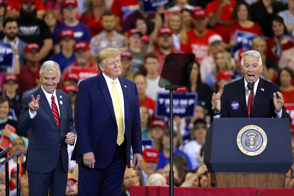 Trump blasts 'bulls--- impeachment' at Louisiana rally, says Nancy Pelosi 'hates the United States'