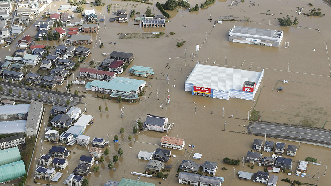 Typhoon Hagibis kills dozens in Japan, floods bullet trains as massive search launched