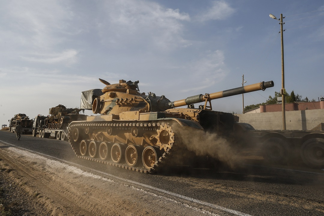 EU countries pledge to suspend arm exports to Turkey over Syria incursion