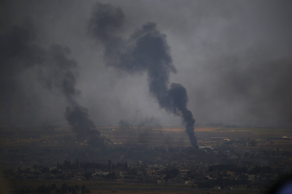 Westlake Legal Group AP19289435801183 US jets destroy anti-ISIS coalition base in Syria after withdrawal, official says Melissa Leon fox-news/world/world-regions/turkey fox-news/world/world-regions/middle-east fox-news/world/terrorism/isis fox-news/world/conflicts/syria fox-news/politics/defense/conflicts fox news fnc/world fnc article 1be0c47e-4383-542c-85bc-6f69111c757c