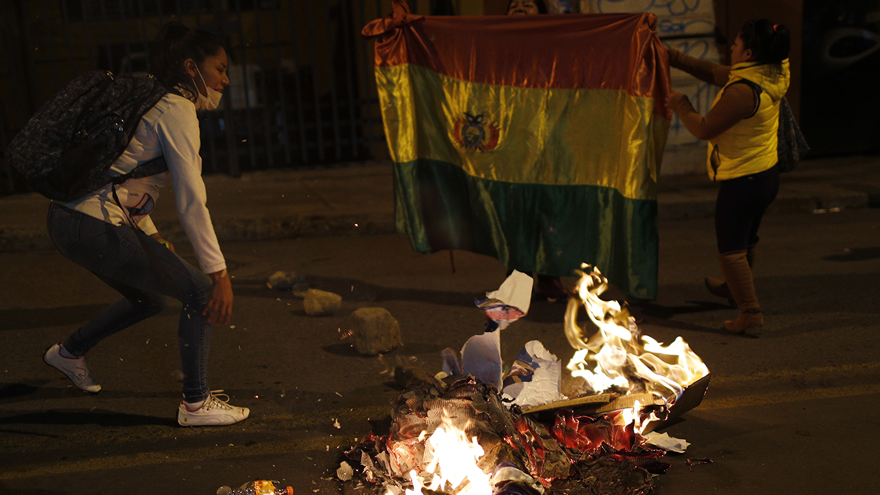 Bolivia erupts in violence after Evo Morales' near outright election win, vote-count delay