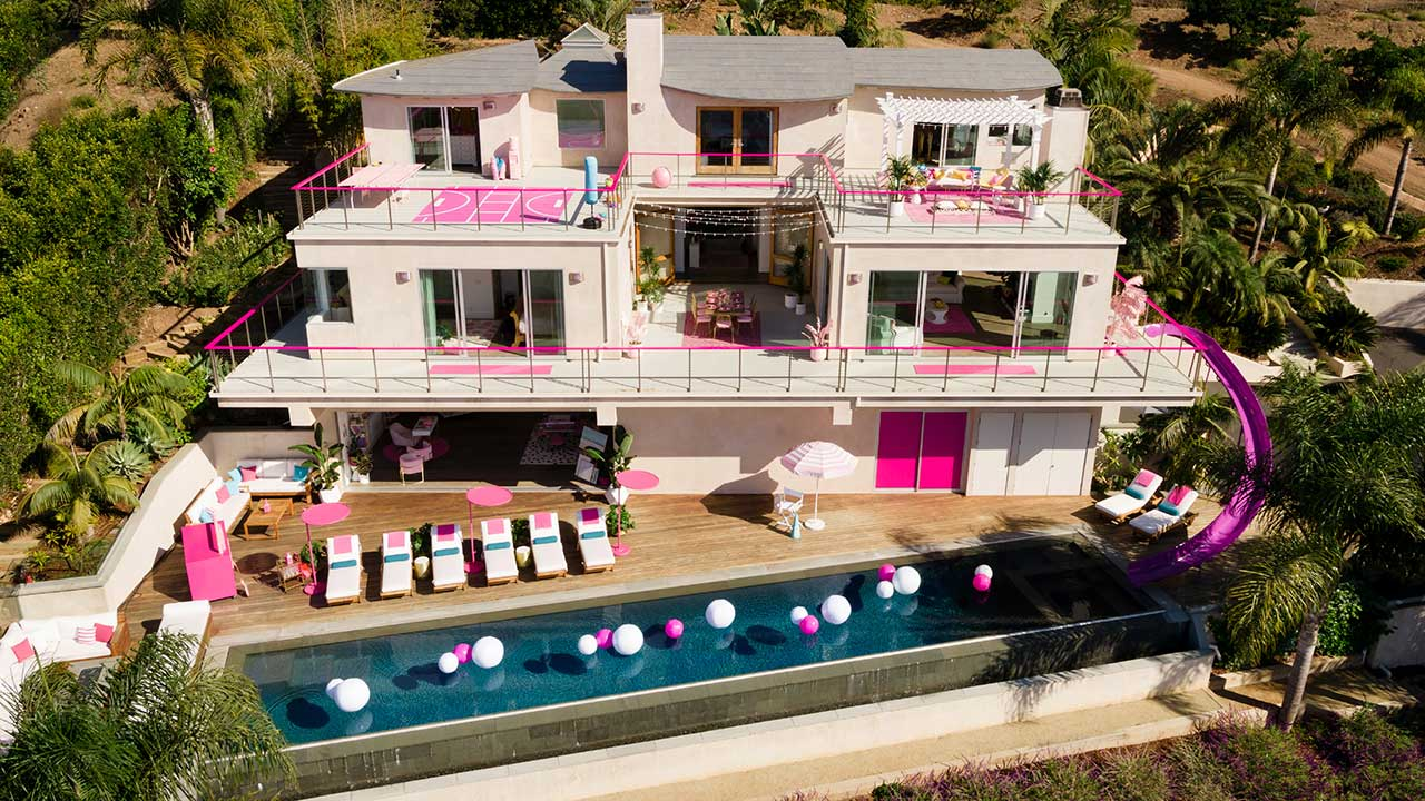 Barbie's Malibu Dreamhouse available to rent on Airbnb — but there's a catch