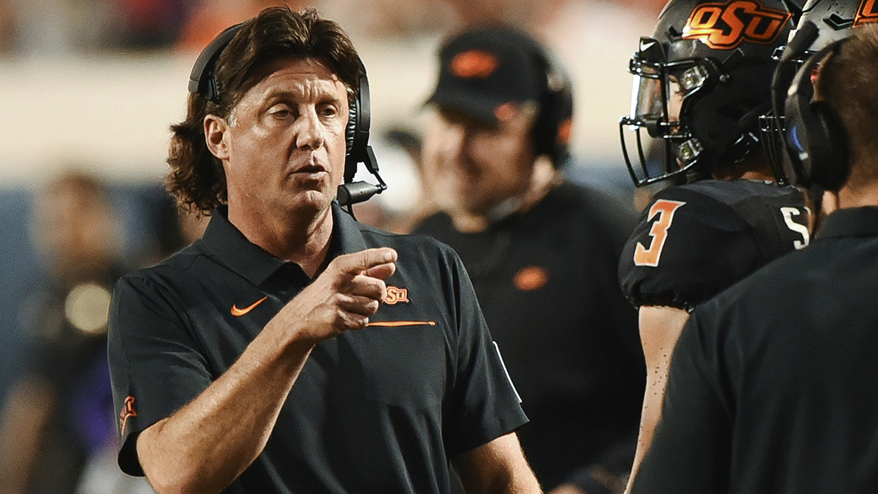 Westlake Legal Group CFB-Mike-Gundy2 Oklahoma State's Mike Gundy uses 'Donkey Kong' to illustrate development of redshirt freshman quarterback Ryan Gaydos fox-news/sports/ncaa-fb fox-news/sports/ncaa fox news fnc/sports fnc article 5f83ebe0-a202-523f-8c0a-3fc126b65283