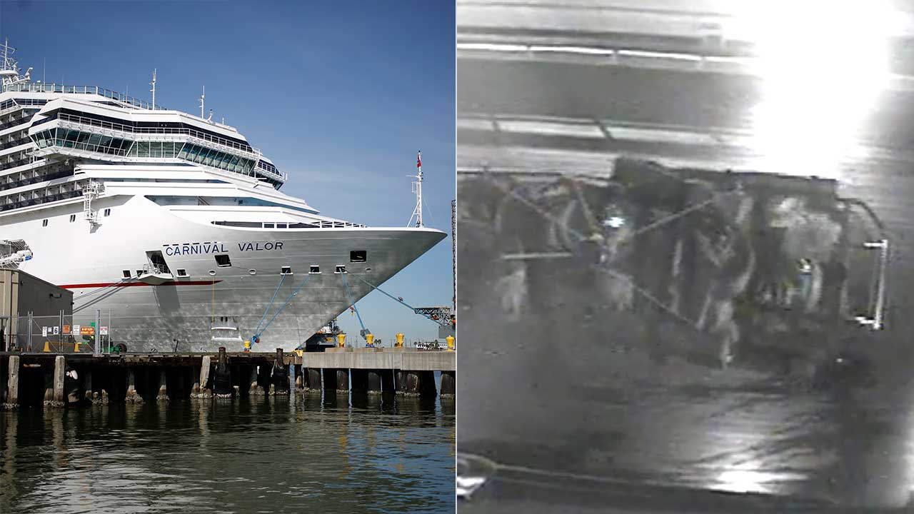 Carnival cruise passenger critically injured after falling over railing and landing on deck below
