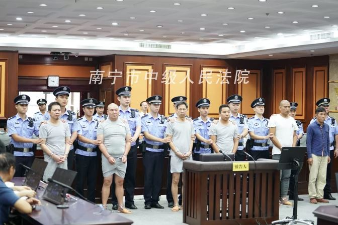 Six Chinese men jailed over contracting botched hit job