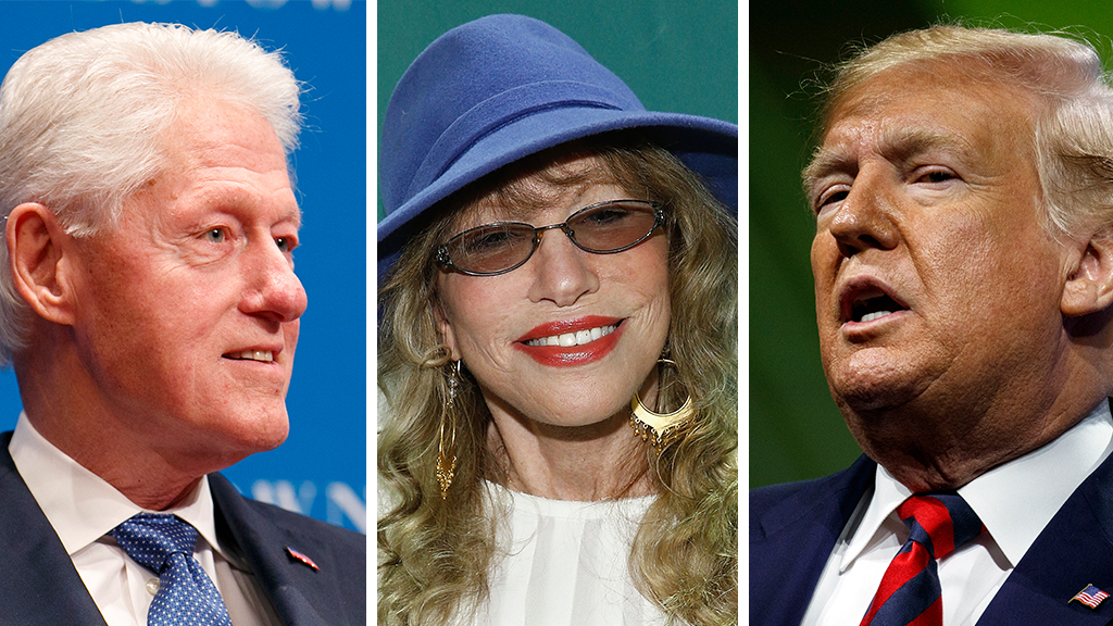 Carly Simon rips 'repulsive' Trump recalling encounter, defends 'brilliant' Bill Clinton from #MeToo backlash