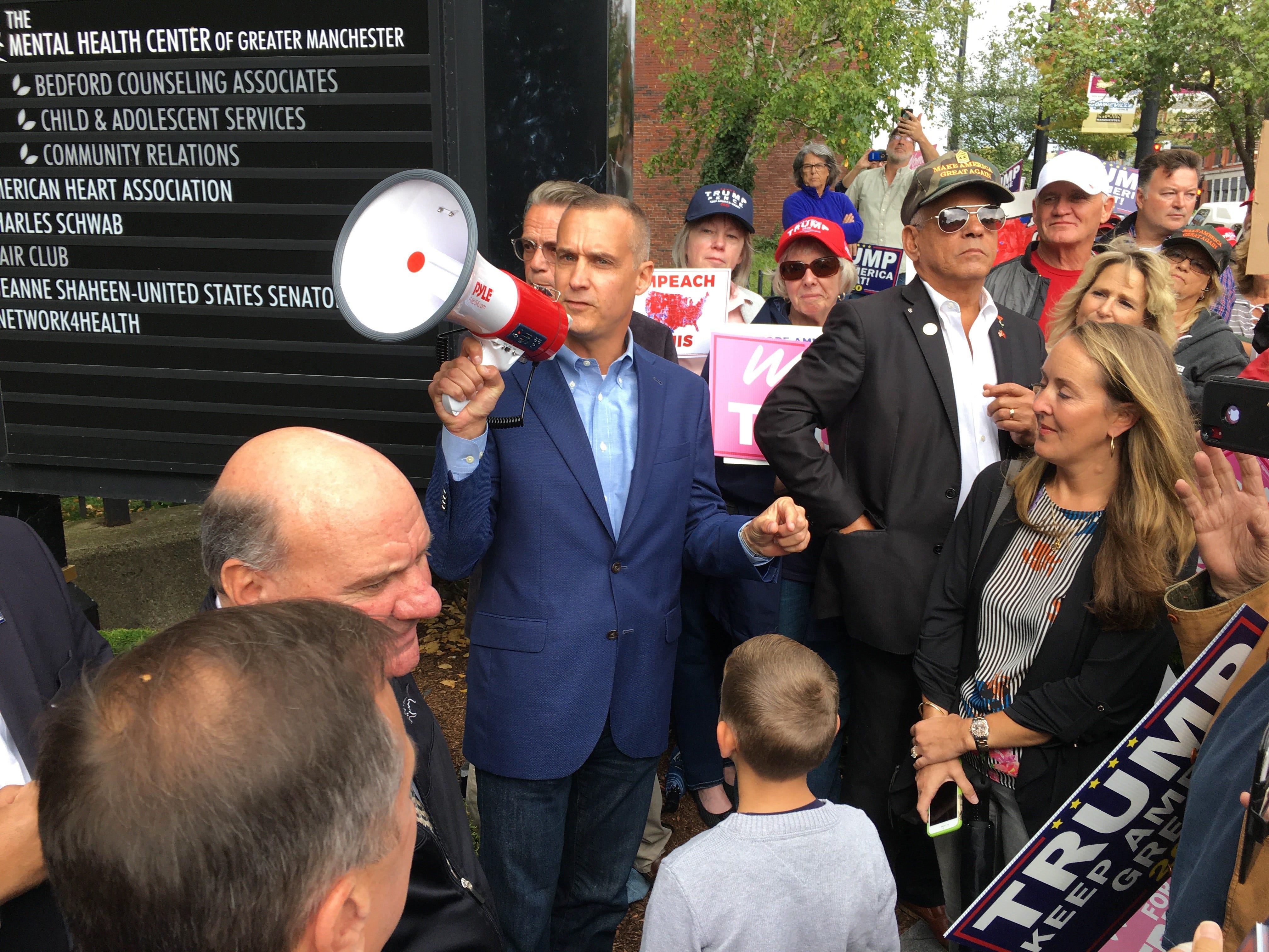 Lewandowski slams Dems at rowdy anti-impeachment rally, claims AOC and Tlaib 'run' party