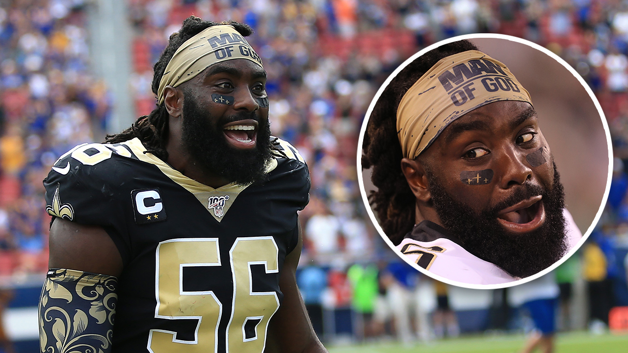 Demario Davis 'Man of God' headband sales explode after NFL fine, he's giving it all to charity