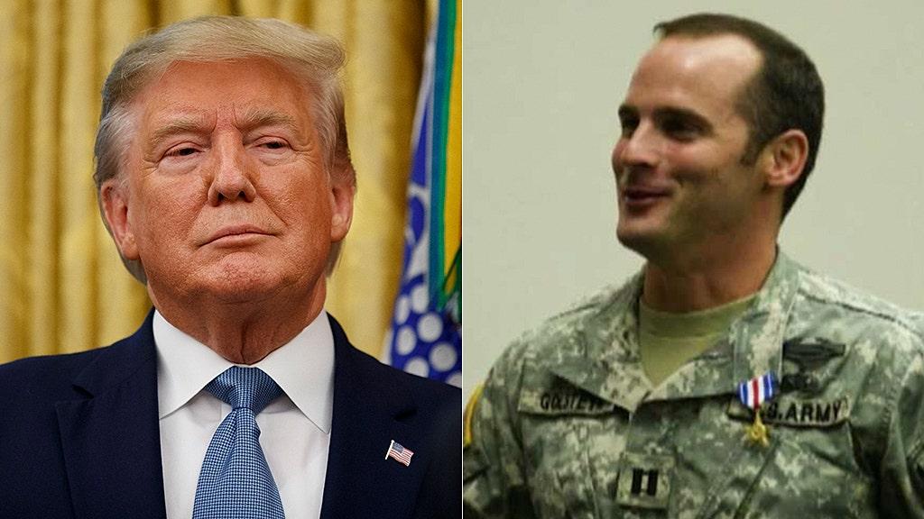 Maj. Mathew Golsteyn case under White House review, Trump says