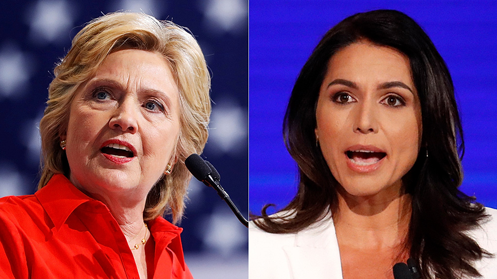 Tulsi Gabbard to Hillary Clinton: 'Step down from your throne'