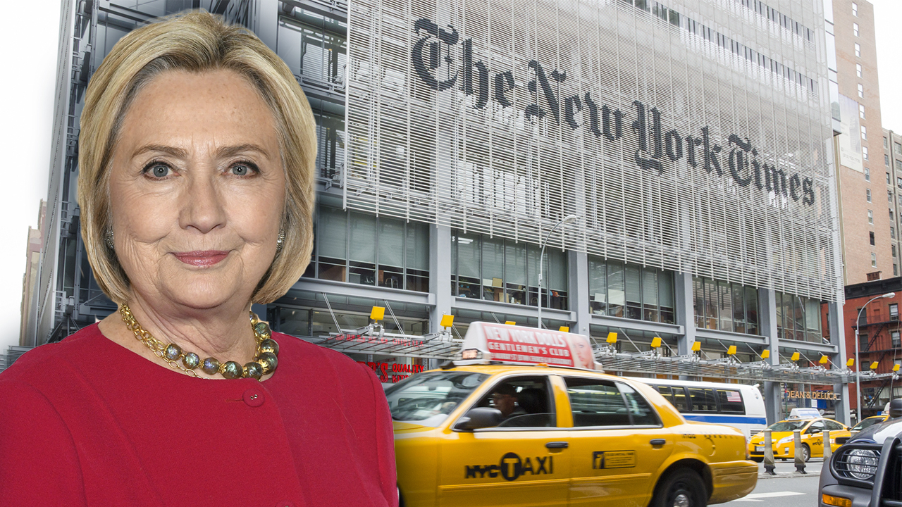 NY Times blasted for Hillary Clinton 'puff piece' calling her a 'master troll'