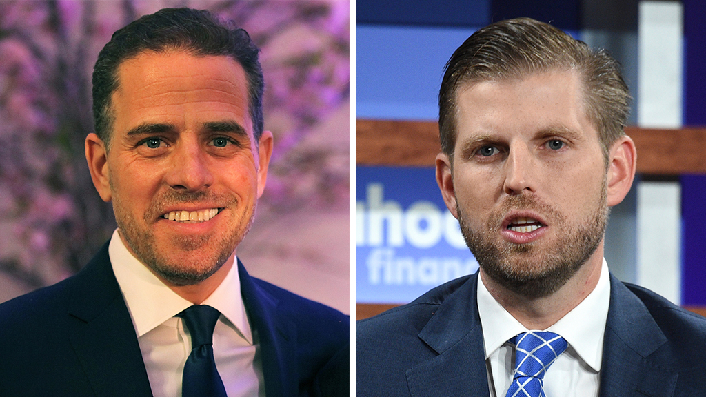 Eric Trump on Hunter Biden: 'I'd be in jail right now for what he did'