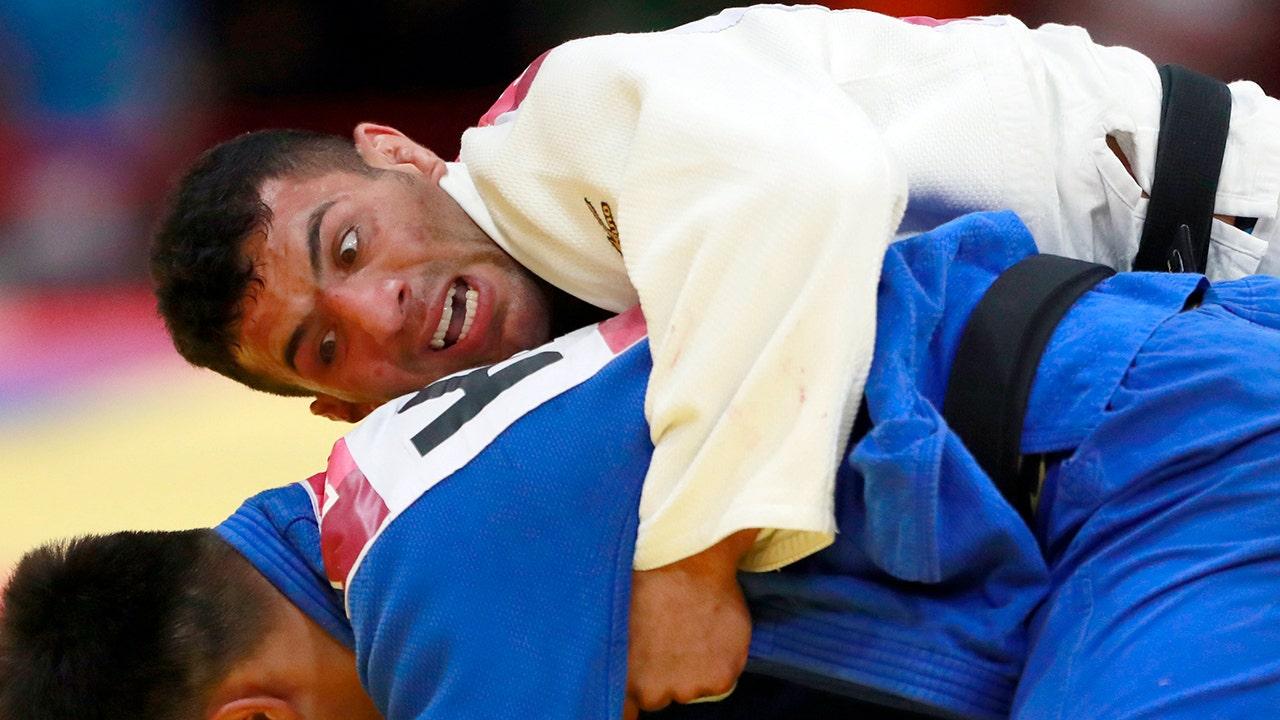 Iran verboten die Welt-judo, bis er stimmt zu Gesicht Israels