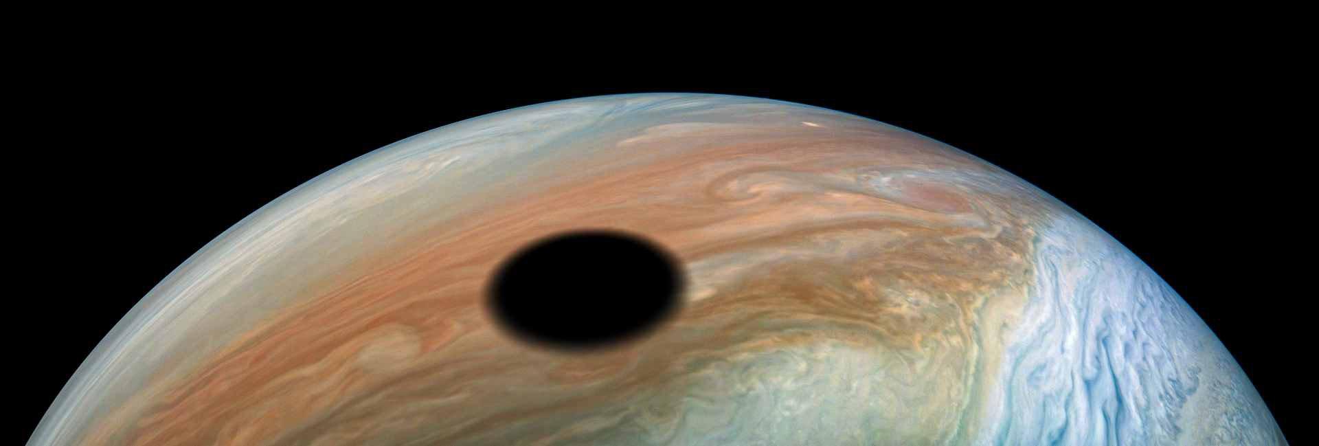 Gigantic black spot spotted on Jupiter by NASA spacecraft