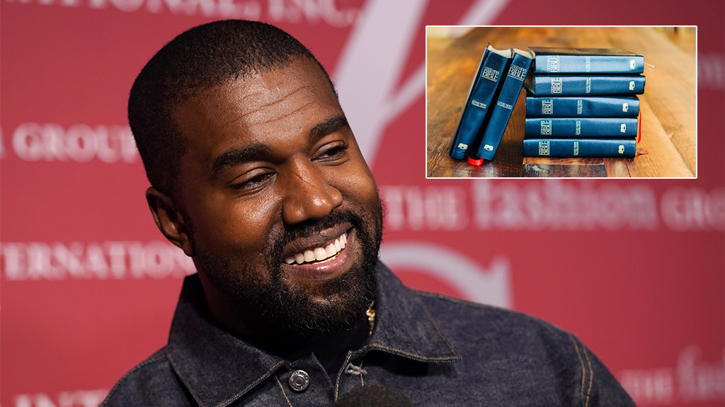 Kanye West prompts Christian group to give 9,000 free Bibles to fans searching for faith - Fox News