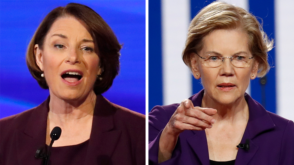 WATCH: Elizabeth Warren clashes with 2020 rivals during debate over her controversial healthcare plan