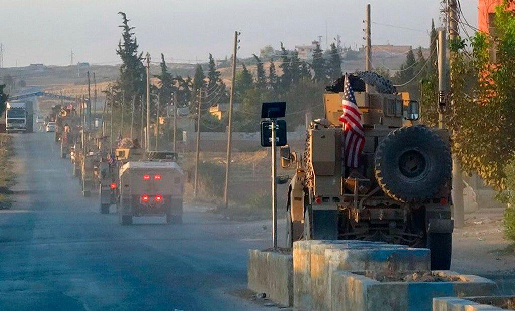 米国からの撤退を受け、トルコの国境に沿ってシリアの前に見侵入FFFトランプしたいPelosi,シッフ塩impeached