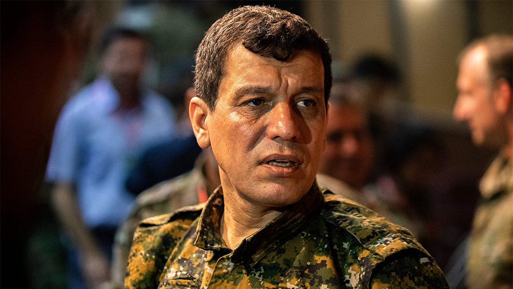 Kurdish military leader says his fighters still want to work with US, accuses Turkey of 'violating' cease-f...