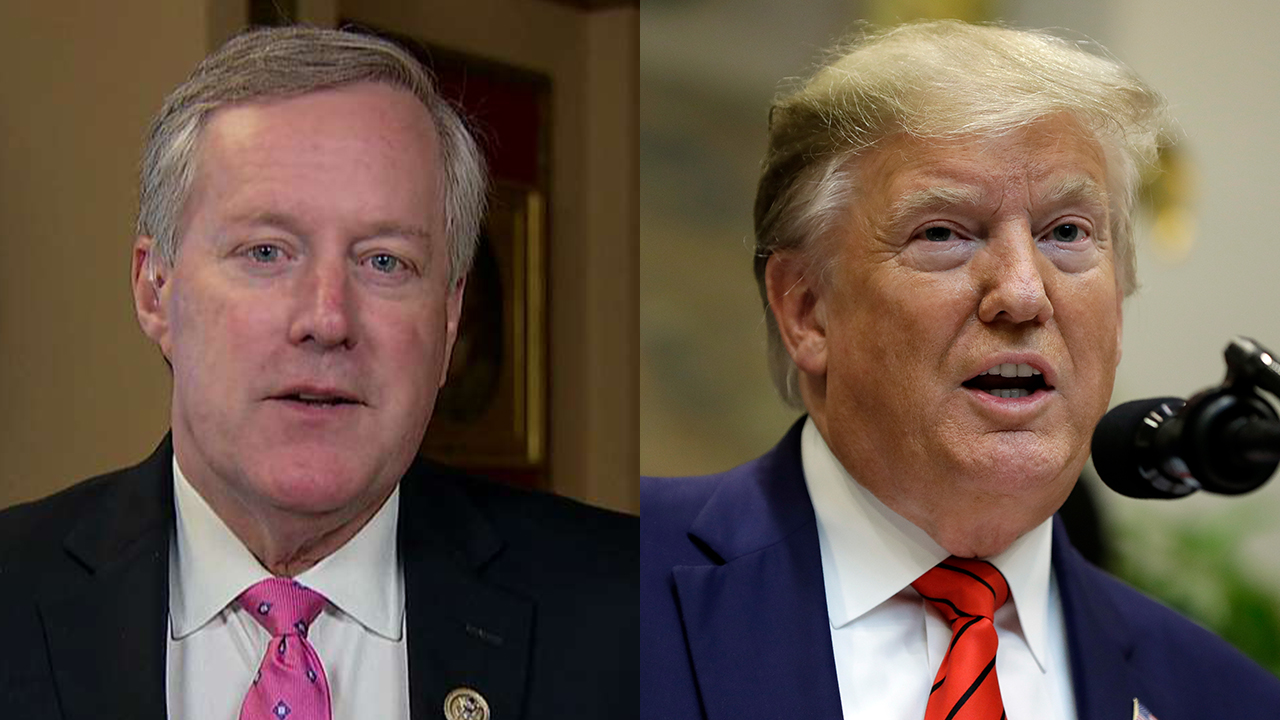 Rep. Meadows on impeachment process: 'Hardened criminals have better protections' than Trump