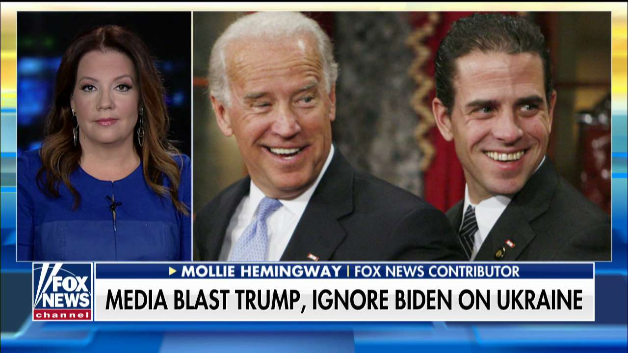 Mollie Hemingway: Joe Biden's brother also involved in scandal and media ignores it