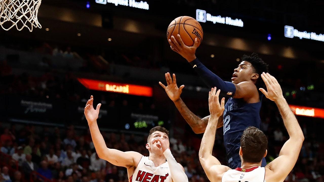 Morant antara NBA pemula yang membuat kebisingan di debut mereka