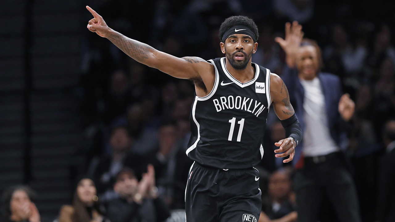 Irving skor 50 tapi meleset tembakan terakhir, Serigala atas Nets di OT