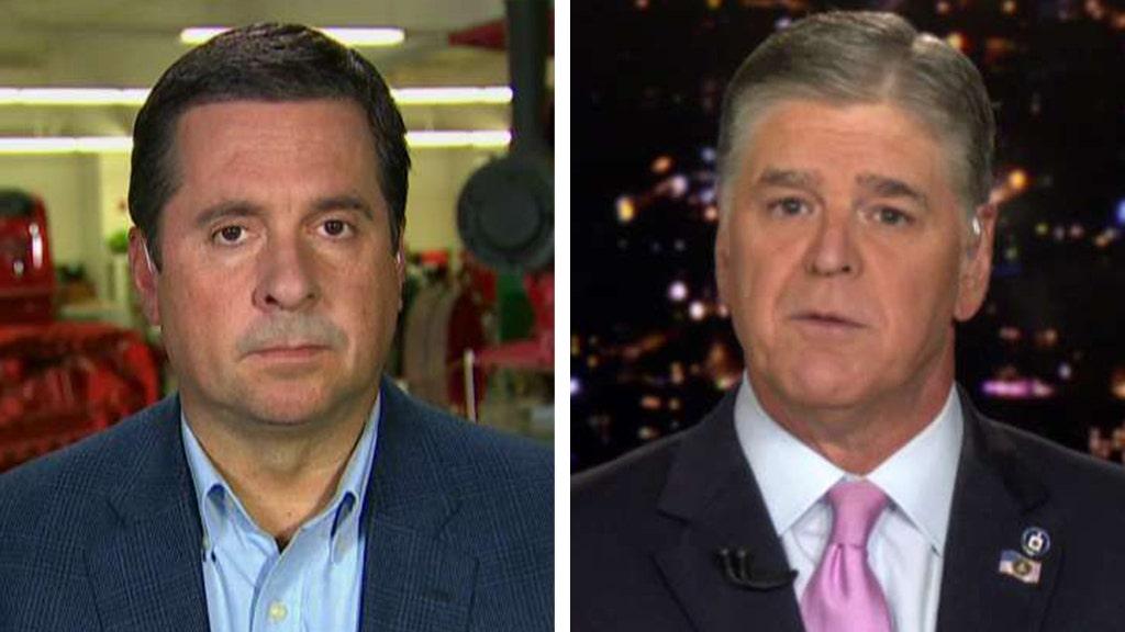 Schiff 'interrupted continually' to 'coach' latest Trump impeachment witness: Nunes