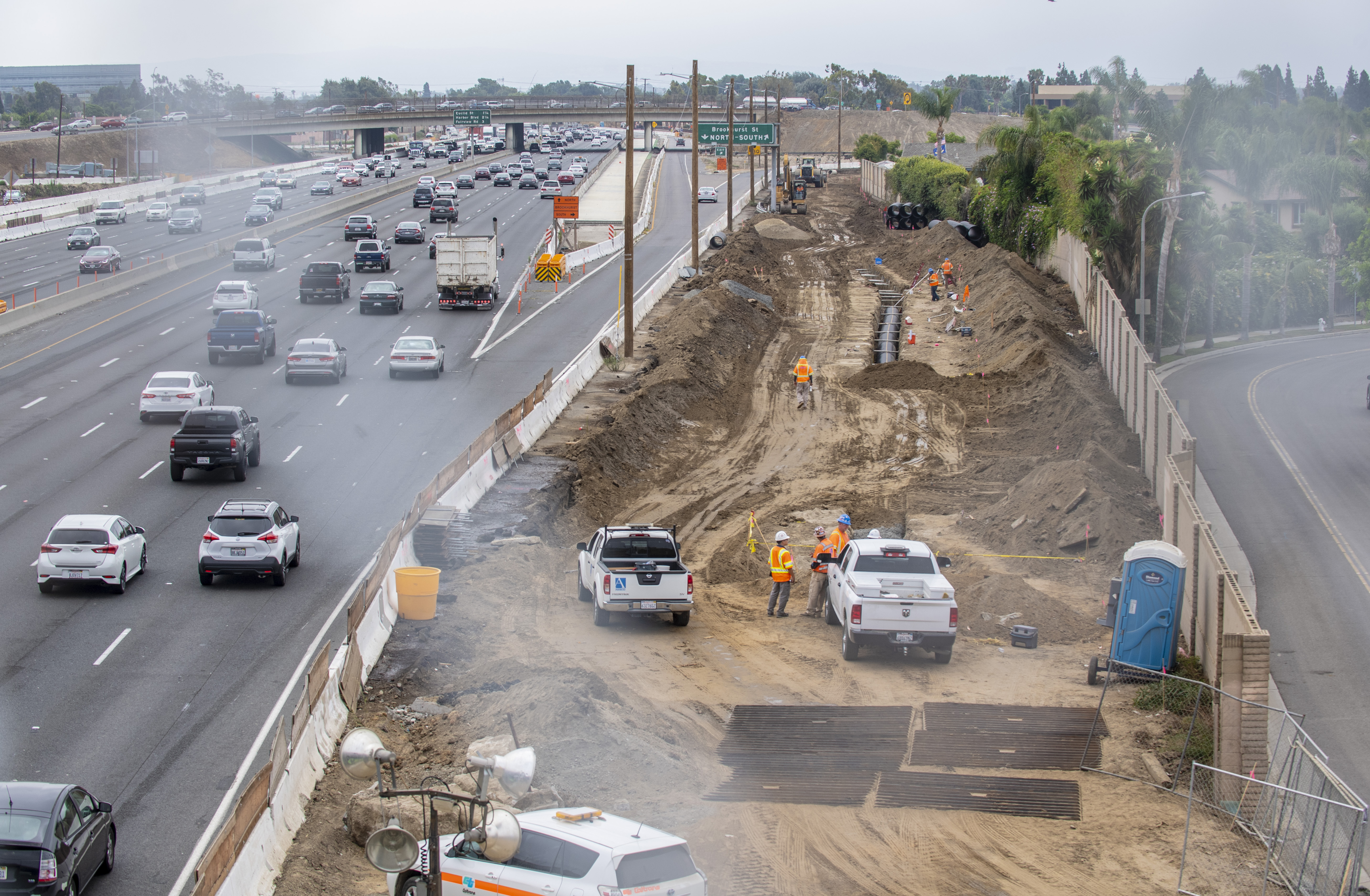 Native American burial site discovered during construction work on California highway