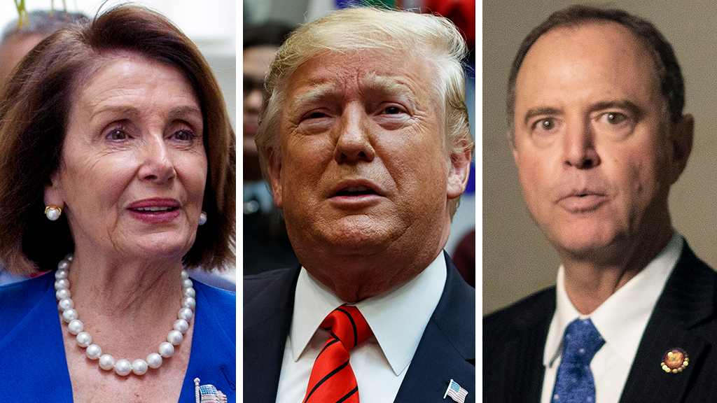 Westlake Legal Group Pelosi-Trump-Schiff_AP Marc Thiessen: Democrats not serious about Trump impeachment – Inquiry is all about politics the washington post Marc Thiessen fox-news/politics/trump-impeachment-inquiry fox-news/politics/house-of-representatives/democrats fox-news/politics/executive/white-house fox-news/politics/elections/democrats fox-news/person/donald-trump fox-news/opinion fnc/opinion fnc article aa4a5a34-c1c3-52c9-85f6-2971c7bf3c78